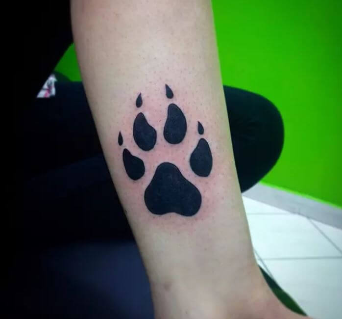 Animal Paw Print Tattoo Meaning