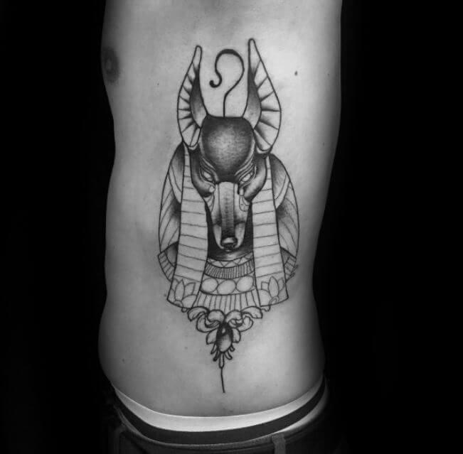 Anubis Art Tattoo