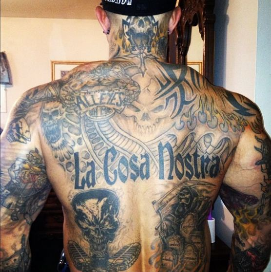 Awesome Full Body Back Tattoos