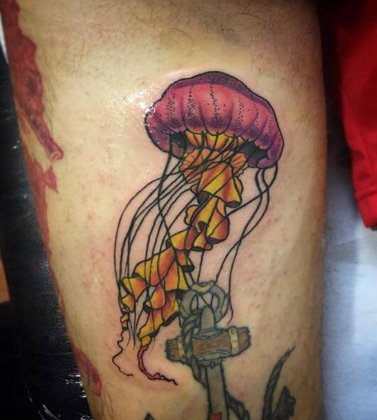 Awesome Jellyfish Tattoos