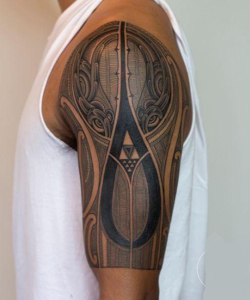 Aztec Sleeve Tattoos