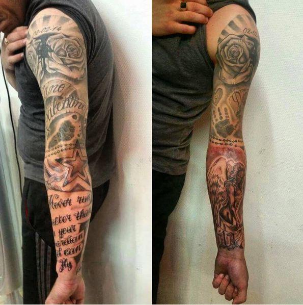 Badass Sleeve Tattoos