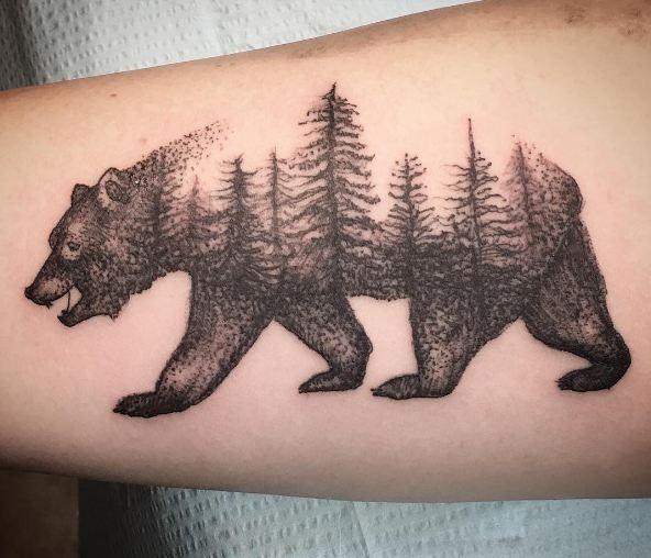 Bear California Tattoos