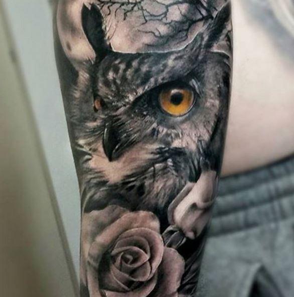Best Owl Tattoos