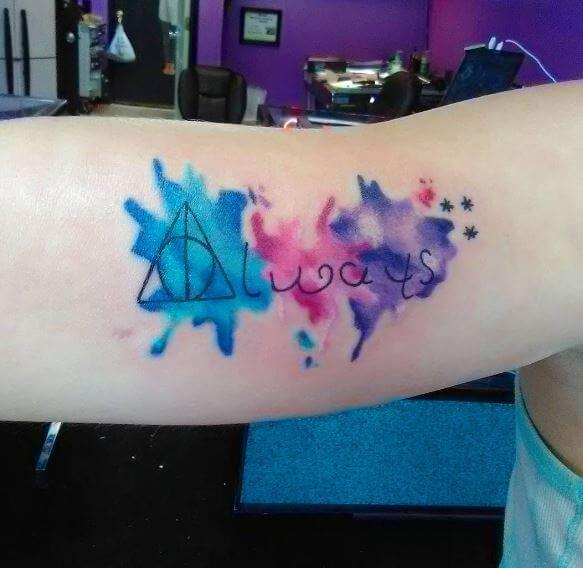 Best Watercolor Tattoos
