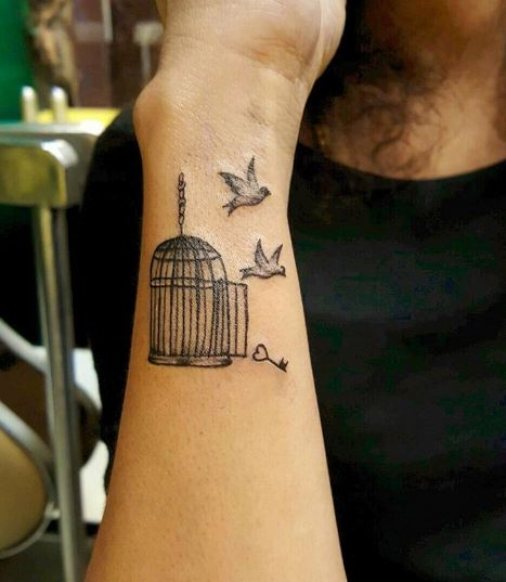 Bird Cage Tattoos