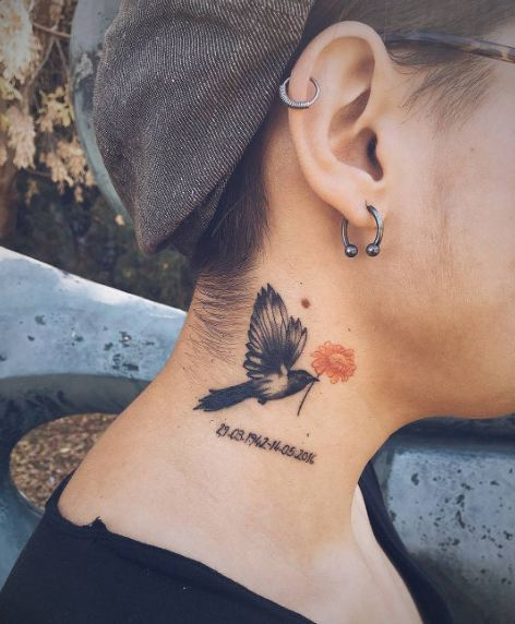 Bird Memorial Tattoos