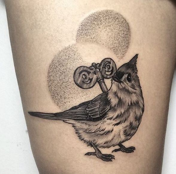 Bird Tattoos Men