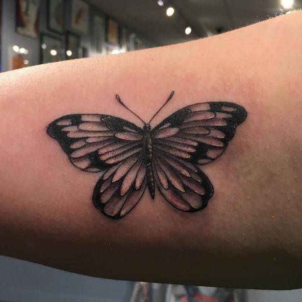 Black Butterfly Tattoos