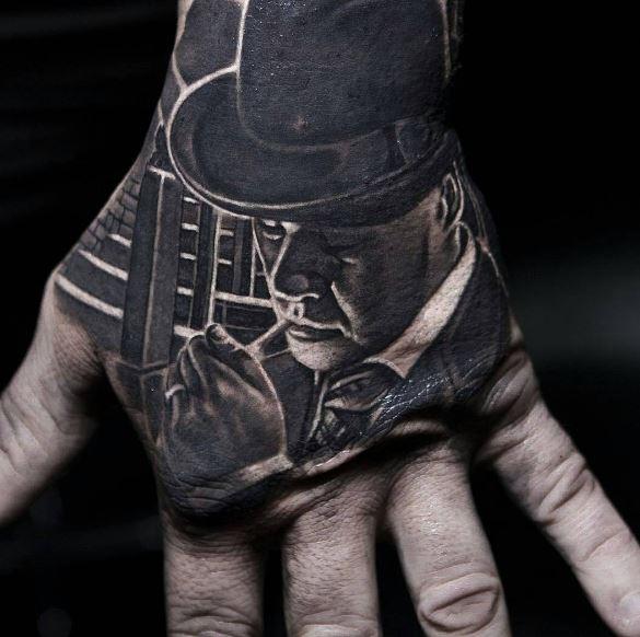 Black Hand Tattoos