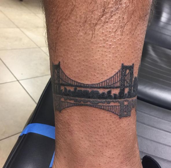 Bridge Leg Tattoos