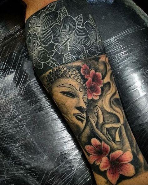 Buddha Leg Tattoos