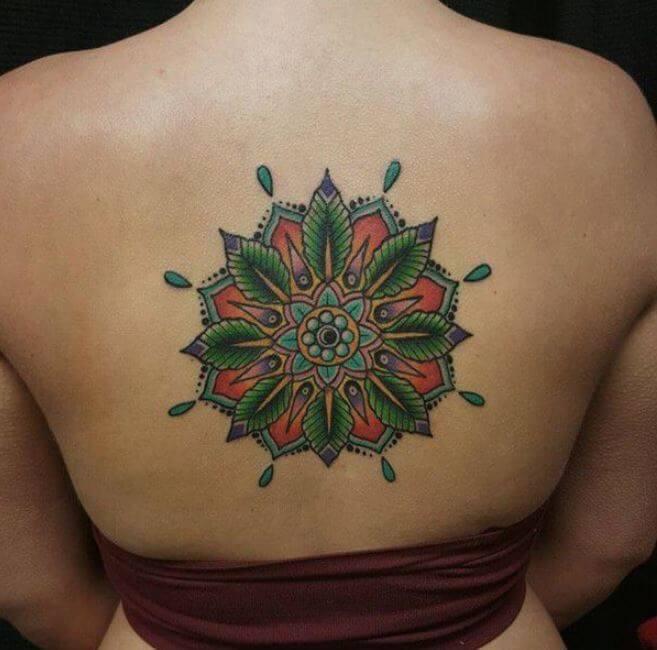 Buddhist Mandala Tattoo