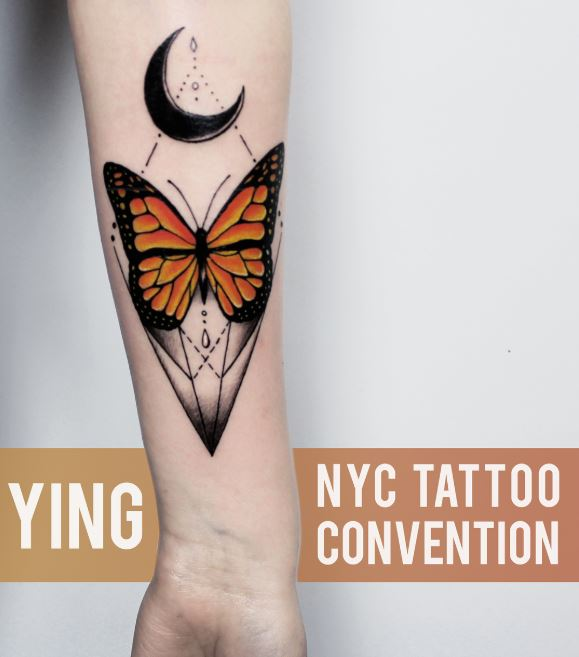 Butterfly And Star Tattoos