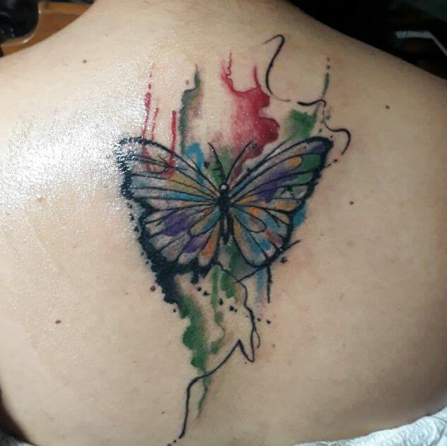 Butterfly Tattoos Watercolor