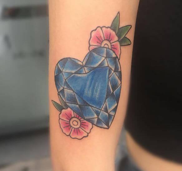 Cherry Blossom Arm Tattoo