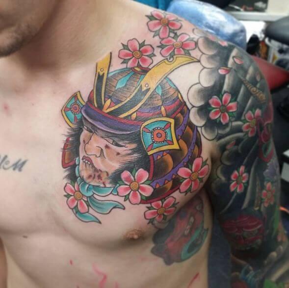 Cherry Blossom Tattoo Shoulder