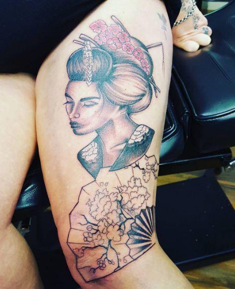 Chinese Geisha Tattoos