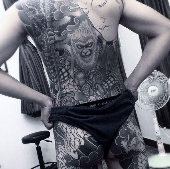 Cool Full Body Tattoos Ideas