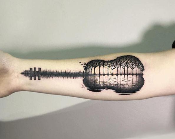 Cool Music Tattoos
