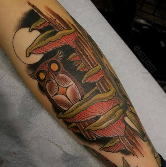 Cool Owl Tattoos