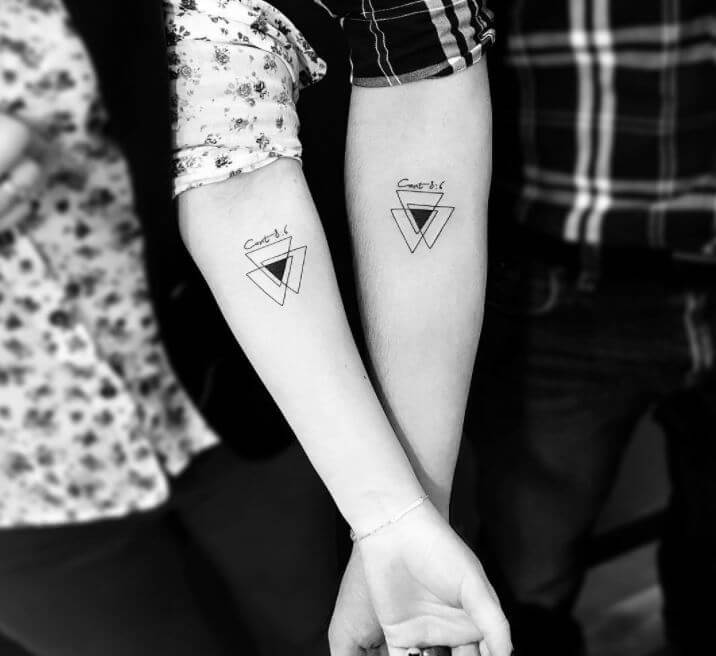 Couple Tattoos Designs