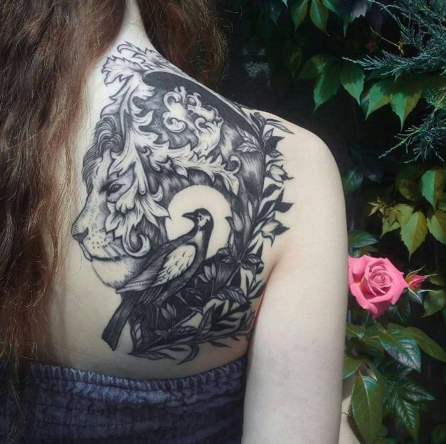 Cute Lion Tattoos