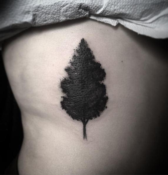 Dark Tree Tattoos
