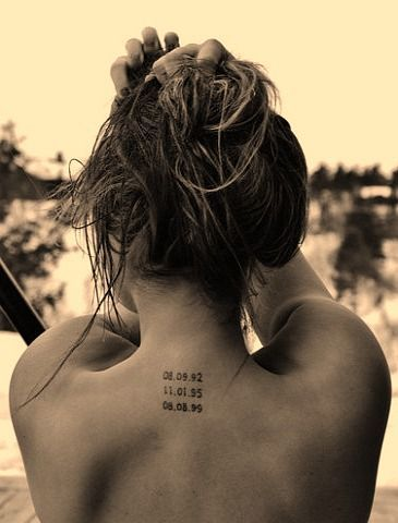 Date Of Birth In Roman Numerals Tattoo (56)