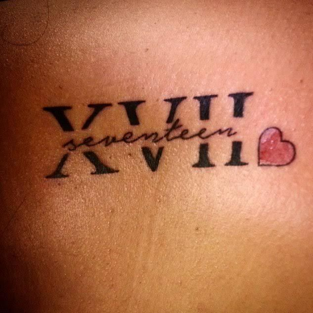 Date Of Birth In Roman Numerals Tattoo (89)