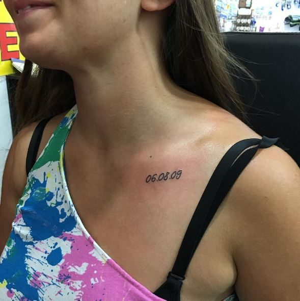 Date Tattoos For Women
