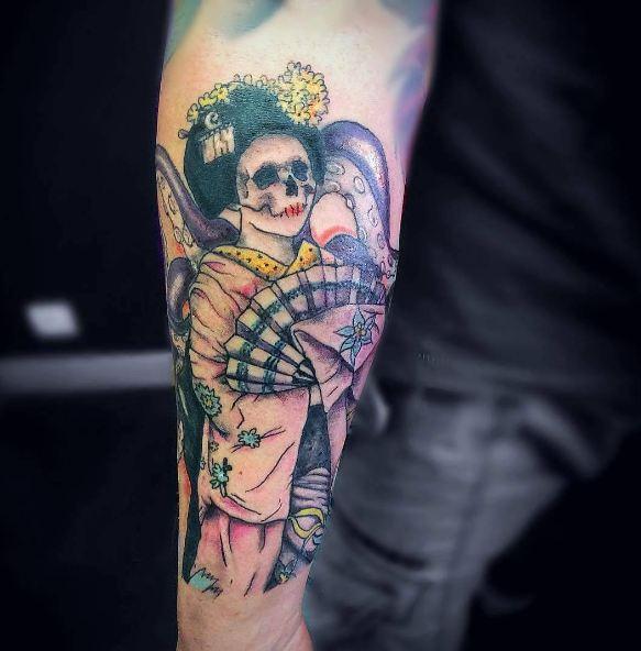 Devil Geisha Tattoos