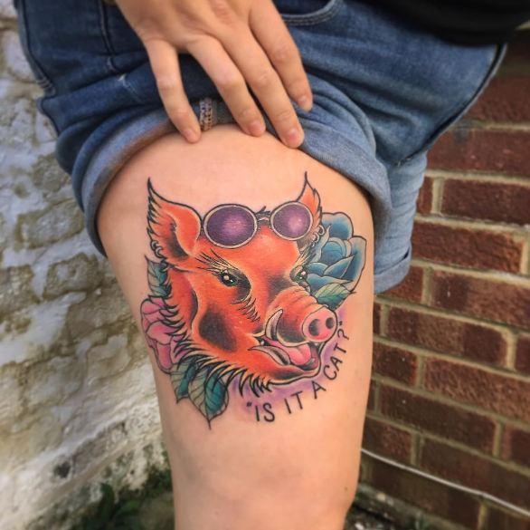 Different Leg Tattoos