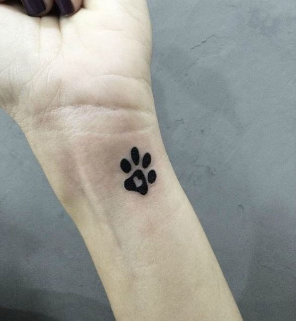 Dog Paw Symbol Meaning