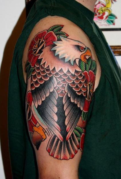 Eagle Sleeve Tattoos