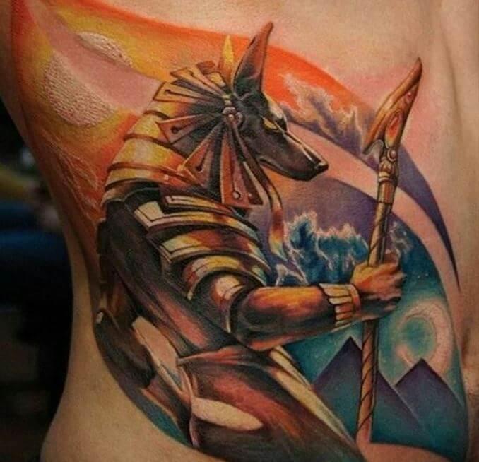 Egyptian Tattoo Anubis