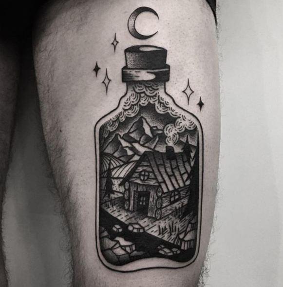 Fablous Leg Tattoos