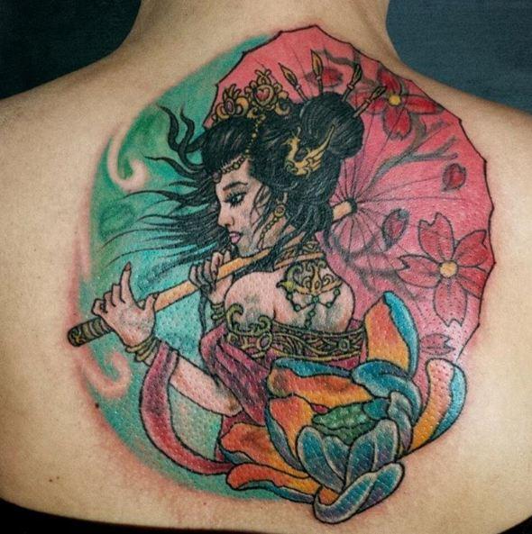 Fine Geisha Tattoos