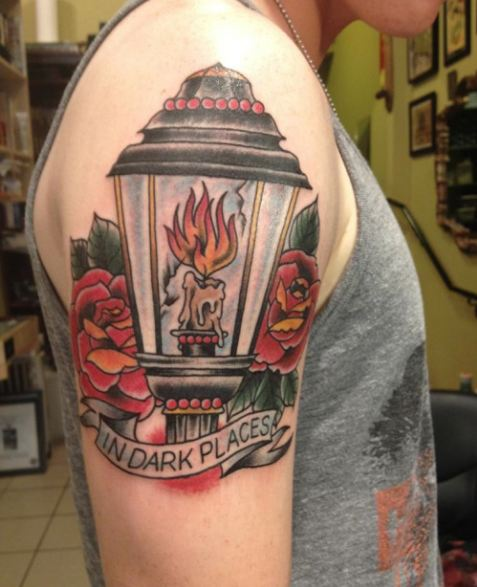Flame Fire Quarter Sleeve Tattoos