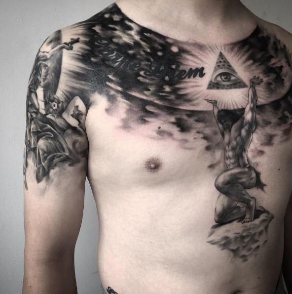 Full Body Atlas Tattoos