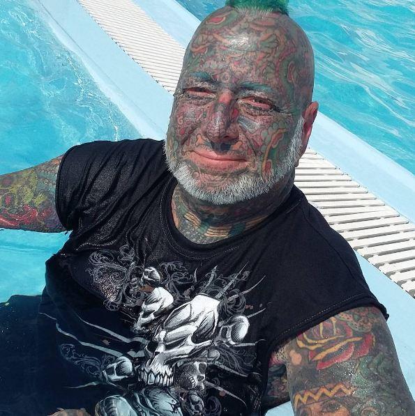 Full Body Tattoos For Old Men