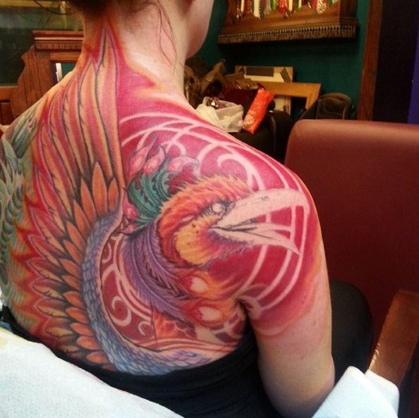 Full Body Tattoos On Back