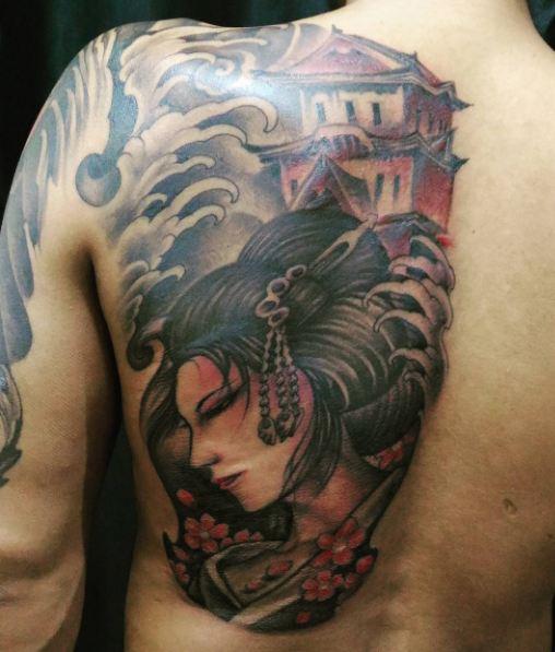 Geisha Hannya Tattoos
