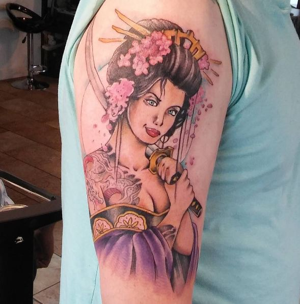 Geisha Tattoos And Meanings