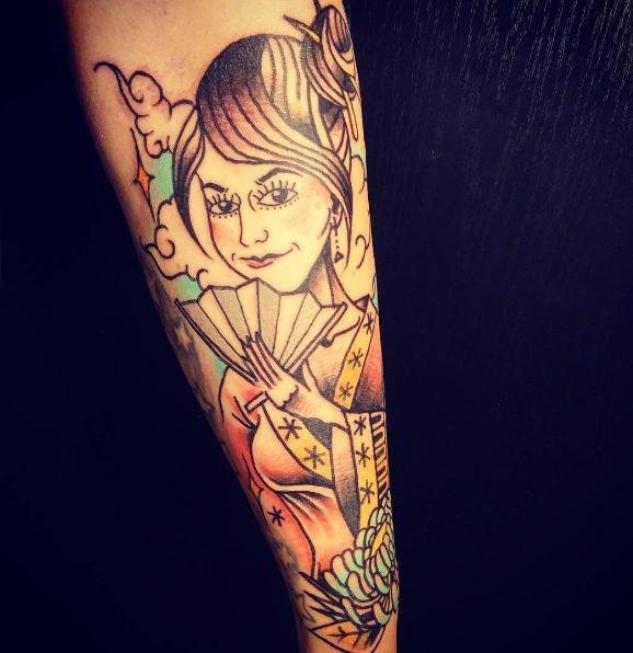 Geisha Tattoos Designs