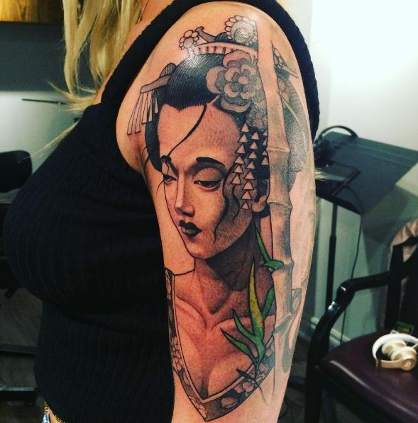Geisha Tattoos For Women