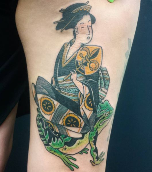 Geisha Tattoos Gallery
