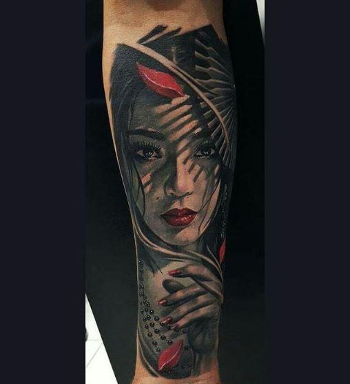 Geisha Tattoos Ideas