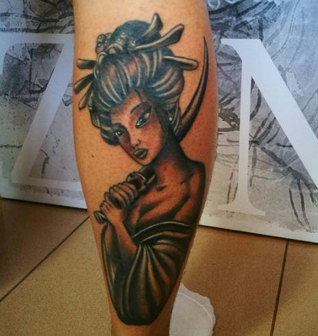 Geisha Tattoos Pinterest