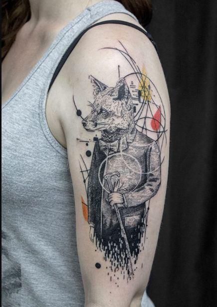 Geometric Sleeve Tattoos 1
